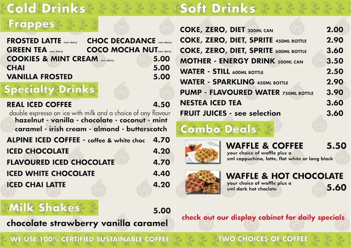 Main Drinks menu 2013 updated size